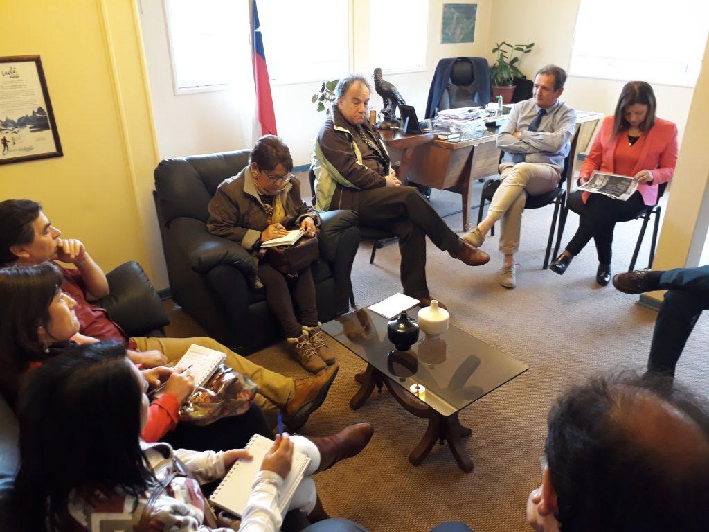 Alcalde sostiene reunión con CorpAysén y definen líneas de trabajo en común