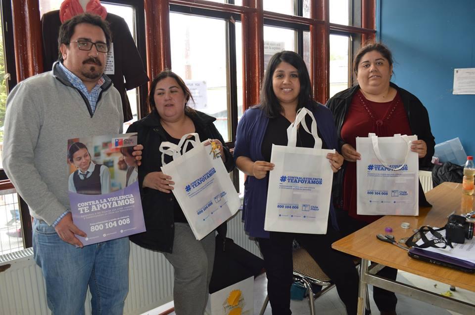 Con importante participación culminan actividades del Mes de la No Violencia contra la Mujer