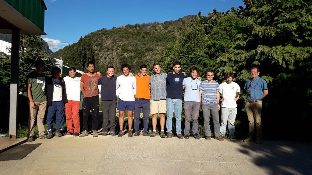 Finalizaron trabajos de verano de universitarios provenientes de Santiago