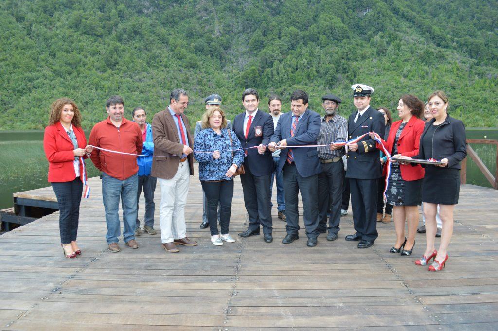 Municipalidad de Aysén inaugura dos nuevas obras en el marco de su 90° Aniversario
