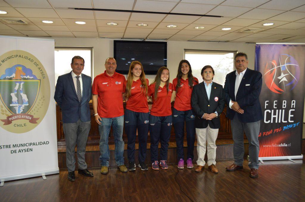 FebaChile presentó en sociedad el XXV Campeonato Sudamericano U15 femenino