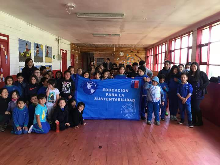 Escuela Carlos Condell de Caleta Andrade obtiene certificación ambiental