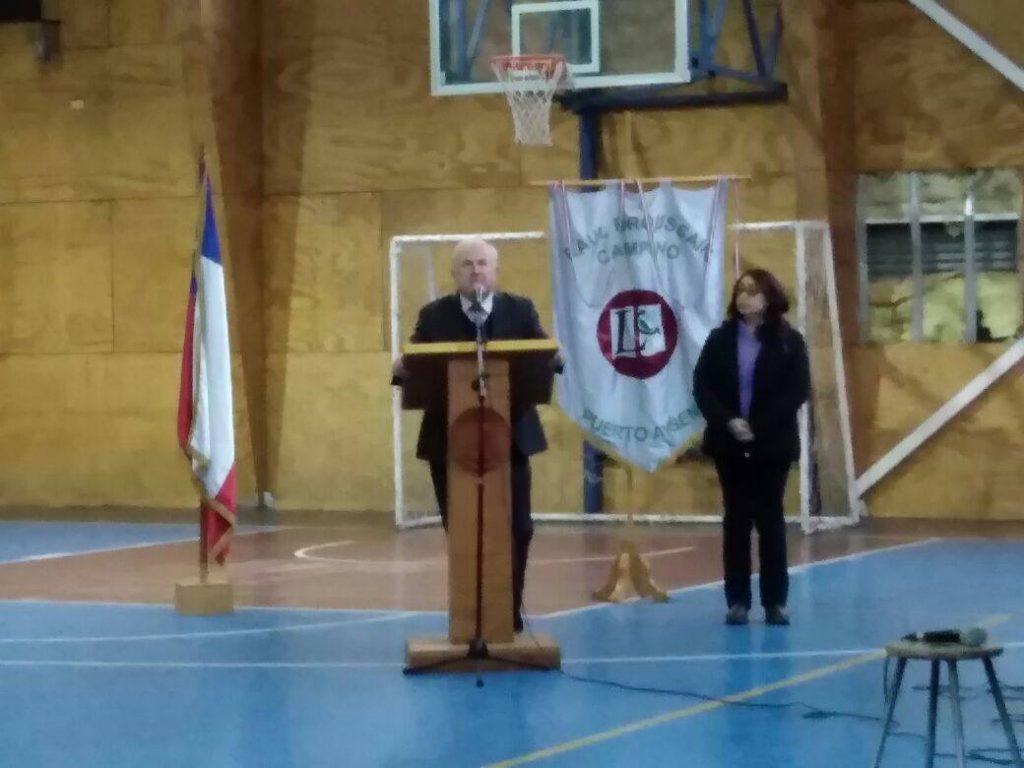 Liceo Raúl Broussain Campino de Puerto Aysén celebró 79 años de existencia