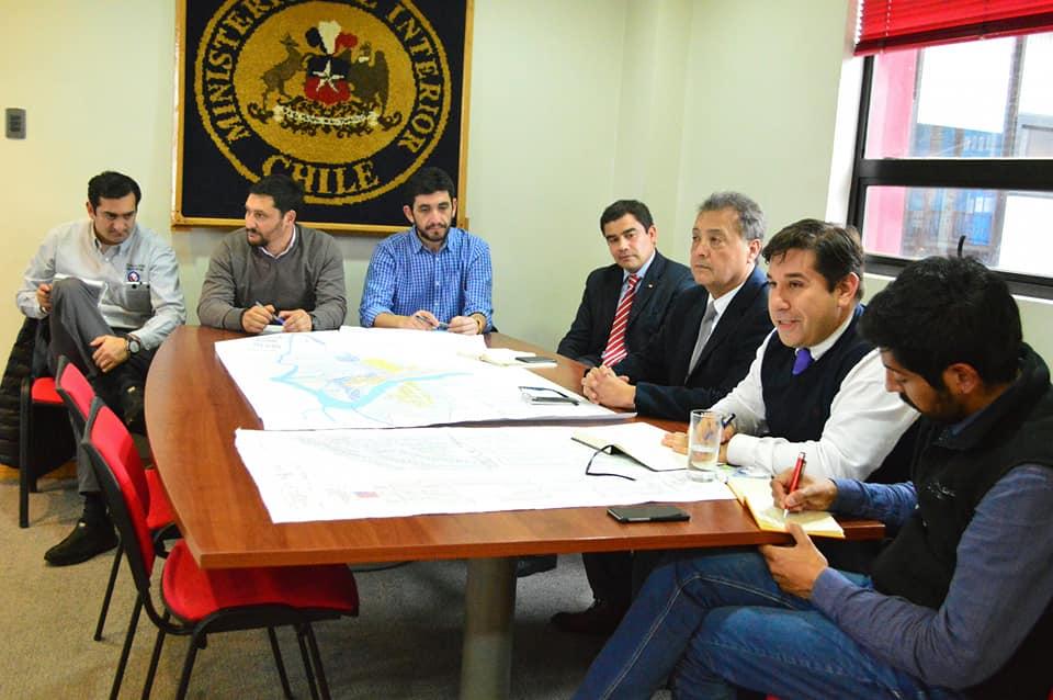 Dirección de Tránsito coordina reunión para mejorar gestión de transporte público en Aysén