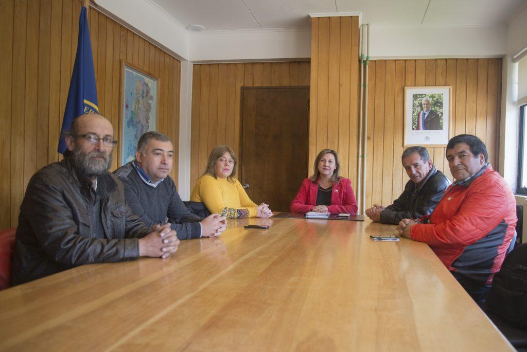 Concejo Municipal de Aysén se reunió con Intendenta Regional