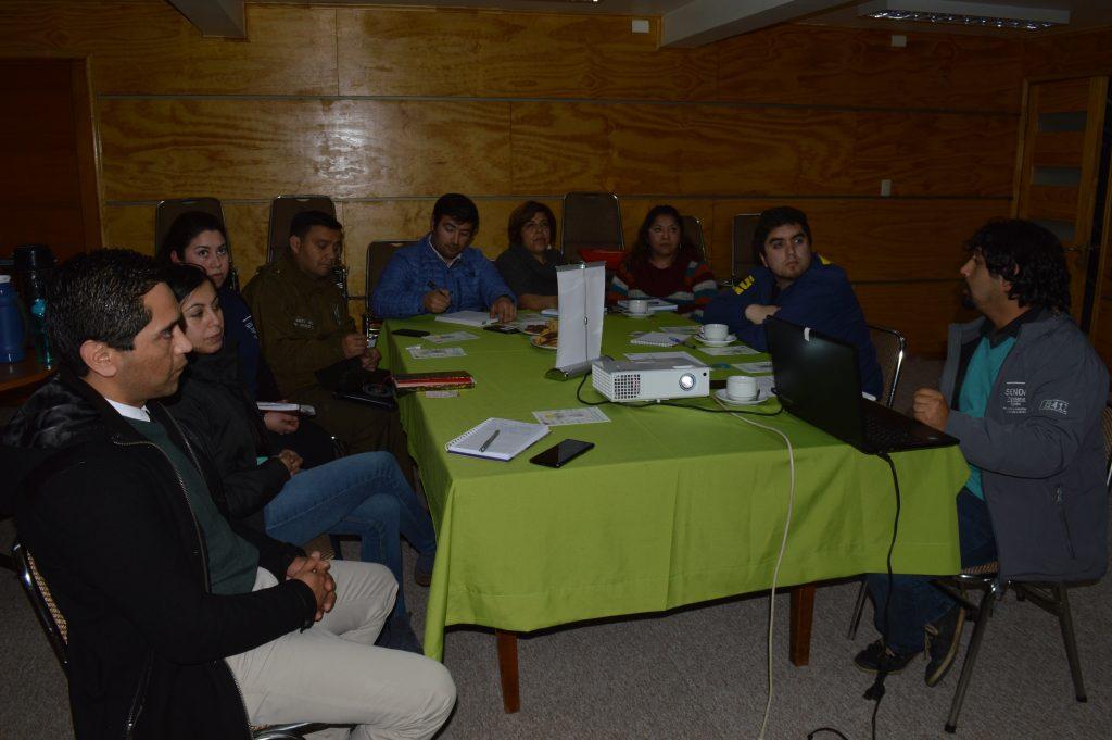 """Senda Previene Aysén lidera conformación de """"Comisión Comunal de Prevención de Alcohol y otras drogas"""""""