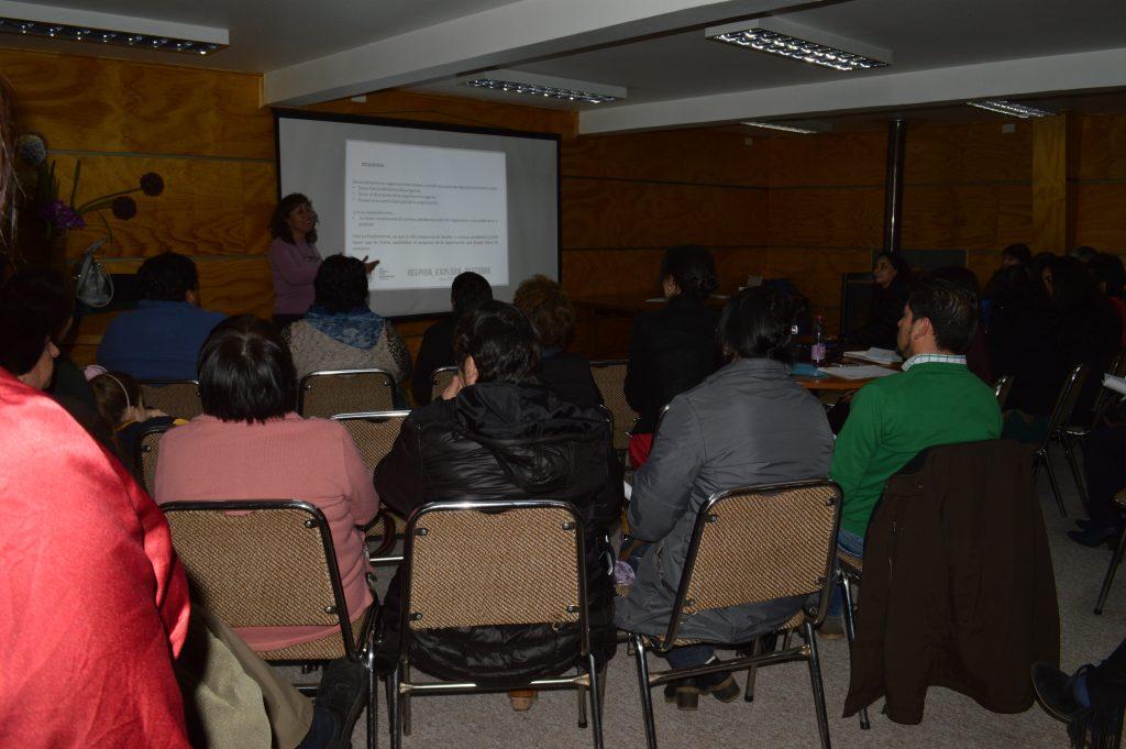 Municipalidad de Aysén capacita a dirigentes sociales en desarrollo de proyectos para organizaciones territoriales