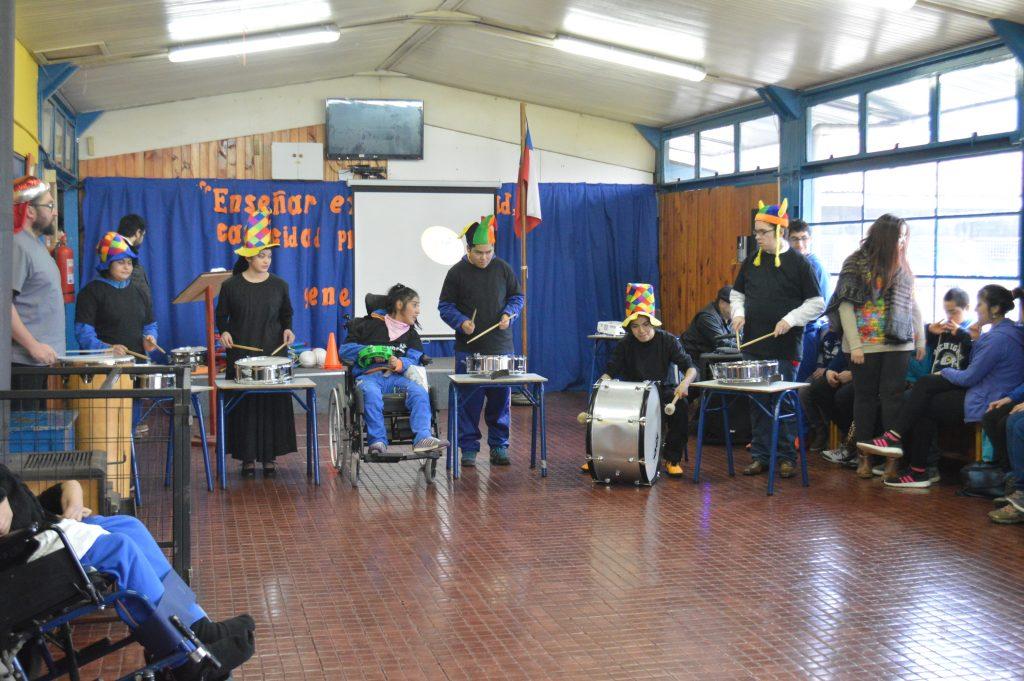 Alumnos de la escuela Despertar se lucieron en muestra de AELES
