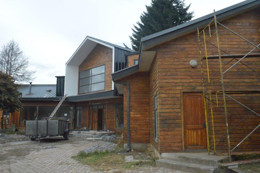 Importante estado de avance presenta ampliación de Biblioteca Pública en Puerto Aysén