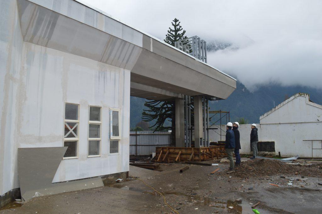 Importantes avances presentan obras en ejecución en la comuna de Aysén