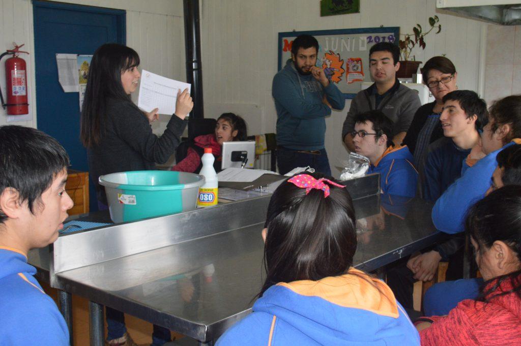 Escuela Despertar obtendrá resolución sanitaria para comercializar productos elaborados por sus alumnos