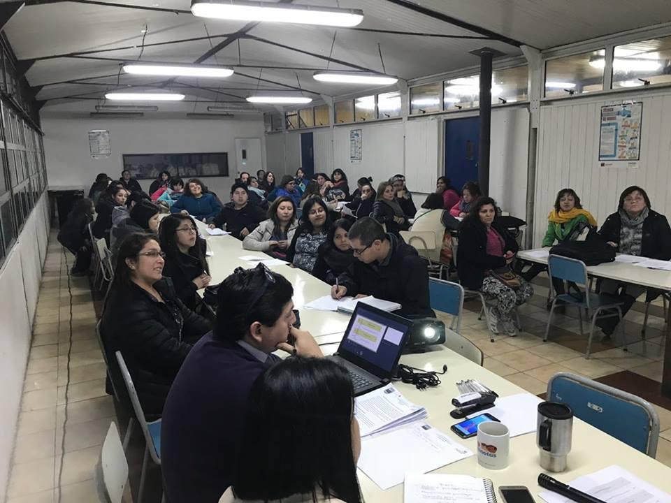 Escuela Ribera Sur realiza Primera Jornada Participativa de Actualización de Manual de Convivencia Escolar