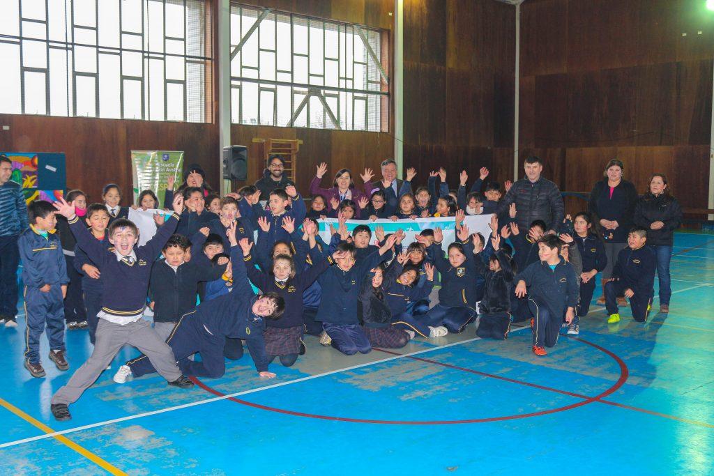 Dos colegios de la comuna de Aysén se suman a Programa Recreos Entretenidos