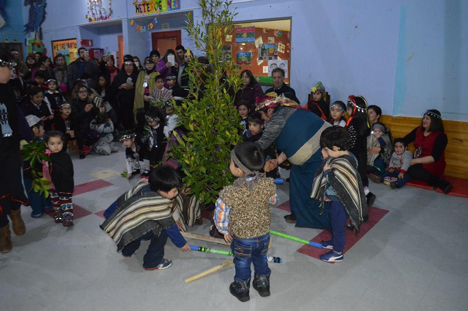 Unidades educativas de la comuna de Aysén celebraron We Tripantu