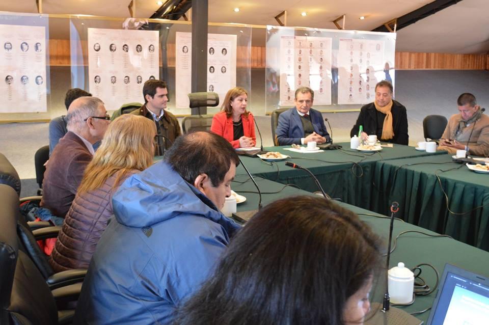 Autoridades regionales participan en sesión de Concejo Municipal para tratar instalación de Zona Franca en Aysén