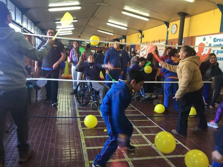 Hogar San Bernardo ejecuta proyecto junto a alumnos de escuela Despertar para propiciar desarrollo integral