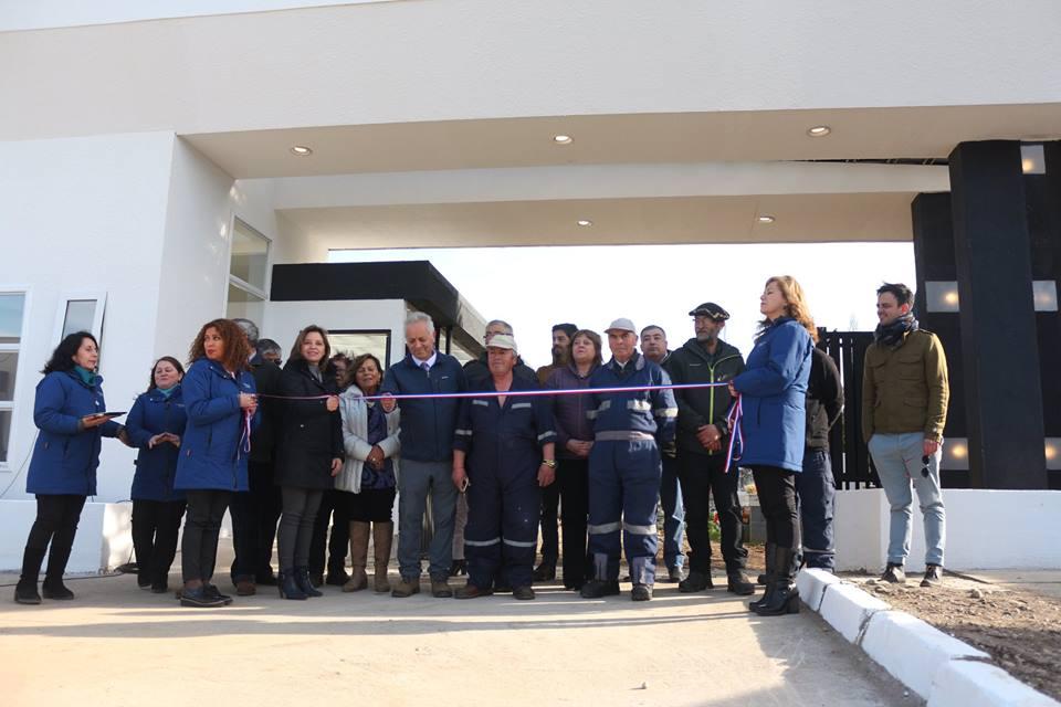 Se inauguran oficinas de administración y servicios higiénicos en Cementerio de Puerto Aysén