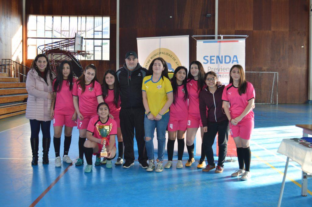 Más de 200 adolescentes y jóvenes se reunieron en la Copa de Invierno Senda en Aysén
