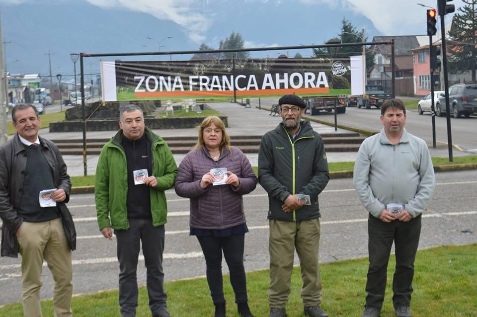"""Alcalde y concejales inician campaña """"Zona Franca Ahora"""" con amplio respaldo de la comunidad"""