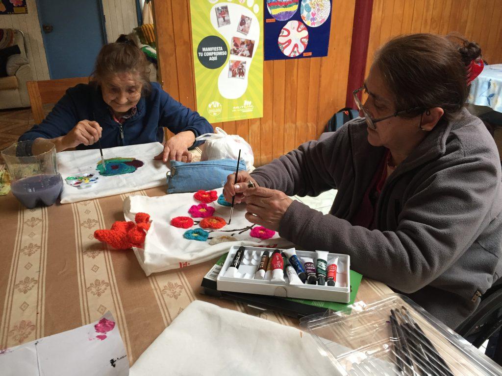 Proyecto de reciclaje de adultos mayores de hogar San Bernardo será destacado en programa de TVN