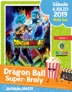 Dragon Ball Super: Broly @ Cine Municipal