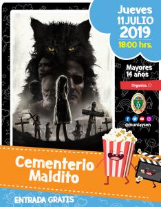 Cementerio maldito @ Cine Municipal
