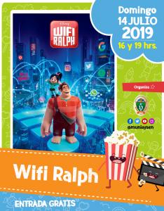 Wifi Ralph @ Cine Municipal
