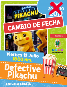 Pokémon: Detective Pikachu @ Cine Municipal