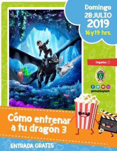 Cómo entrenar a tu dragón 3 @ Cine Municipal