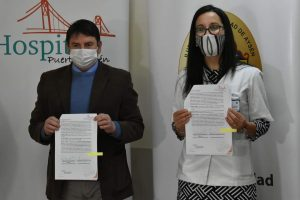 Con firma de convenio entre Municipalidad y Hospital local avanza proyecto de Farmacia Comunal en Aysén