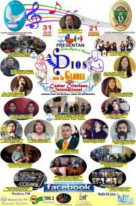 """Municipio aysenino y CCEvang Aysén invitan este viernes a emisión de Primer cantar cristiano internacional online """"A Dios sea la gloria"""""""
