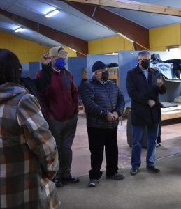 CORES conocen funcionamiento de Albergue Municipal en Aysén y comprometen apoyo para su continuidad
