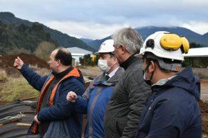 Alcalde Martínez valora apuesta de empresa aysenina que significará moderno relleno sanitario en Aysén