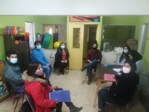 Programa Quiero Mi Barrio se reunió con Centro Aysén Rehabilita para abordar trabajo colaborativo de inclusión