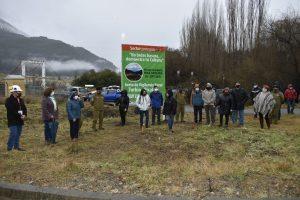 Inauguran nuevo cartel informativo tras compromiso alcaldicio con los vecinos de El Turbio – Picaflor en materia de seguridad