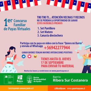 Quiero Mi Barrio extiende plazo de participación en concurso de payas virtuales