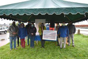 Realizan entrega de terrenos para la construcción de nueva infografía turística en Puerto Aysén