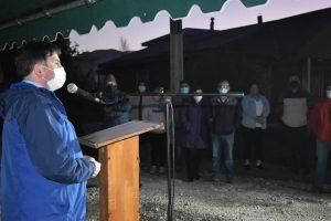 Inauguran anhelado sistema de electrificación y alumbrado público en El Turbio