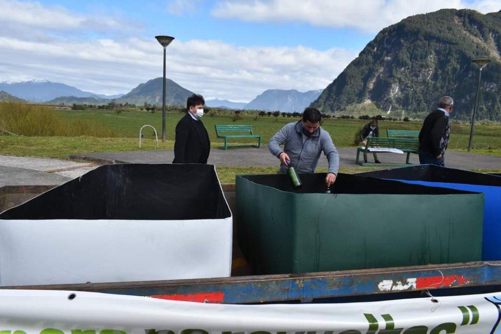 """En Puerto Aysén lanzan programa de reciclaje """"Juntos pero no revueltos"""""""