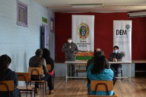 DEM Aysén provee y refuerza conectividad digital para estudiantes de Islas Huichas
