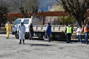Municipio desarrolla nueva jornada de sanitización de vehículos en Puerto Aysén
