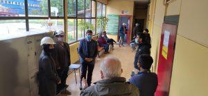 DEM Aysén efectúa obras de reposición y mejoramiento en emblemático establecimiento de Puerto Aysén