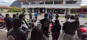Aysén es la primera comuna en implementar estacionamientos para motocicletas en la región