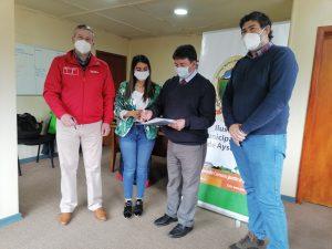 Municipio de Aysén destaca implementación deportiva aportada por IND a usuarios de la Oficina del Adulto Mayor y la discapacidad