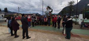 Unión vecinal marca el inicio de los festejos navideños en el sector La Balsa de Puerto Aysén