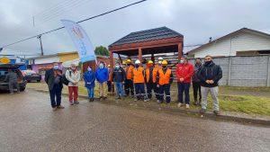 Municipio inició obras de reparación a 19 paraderos en Puerto Aysén