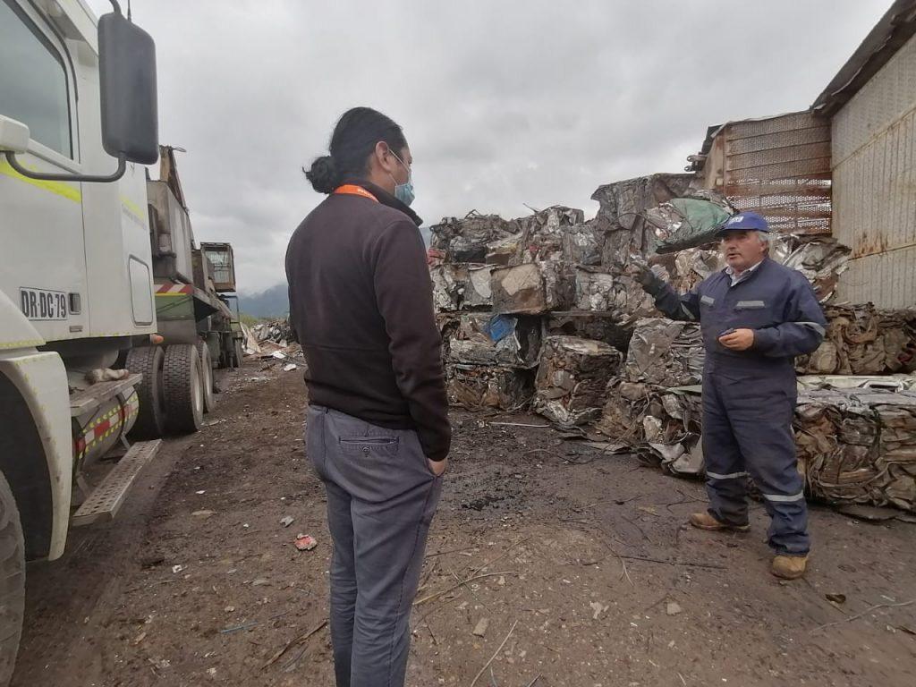 Más de 80 toneladas de fierros y hojalatas obtienen un nuevo destino tras iniciativa municipal de Aysén