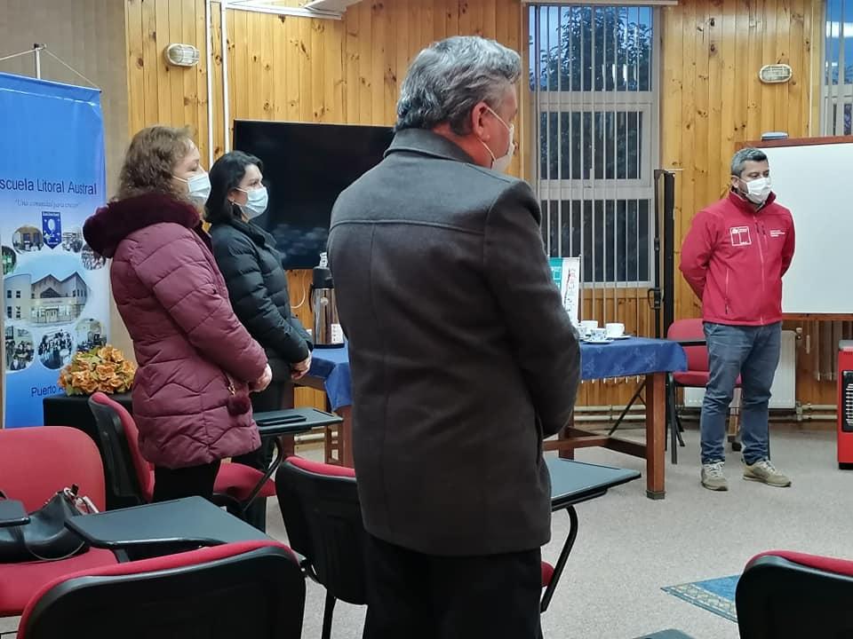 """Aprueban recursos para iniciativa """"Mejoramiento fachada escuela Litoral Austral"""" en Puerto Aysén"""