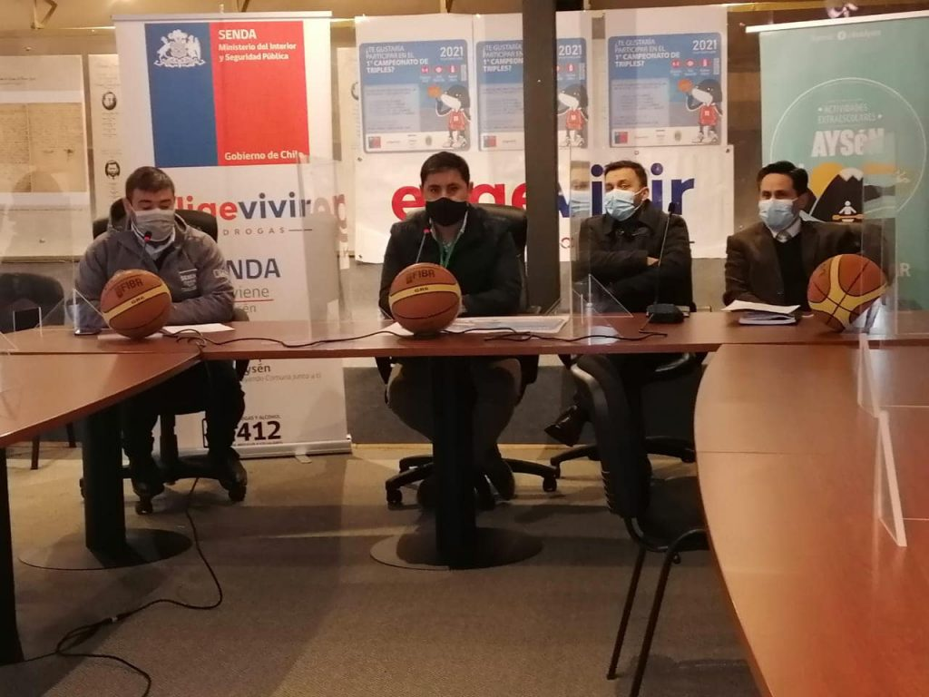 SENDA y DEM Aysén invitan a niños y jóvenes a ser parte de Campeonato de Triples y Habilidades de Básquetbol